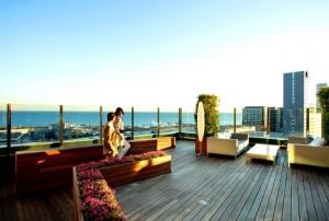 noche romántica en el hotel de Barcelona